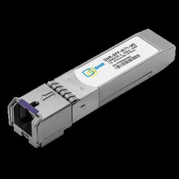 Модуль SFP WDM, дальность до 140км (34dB), 1570/1510нм