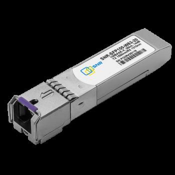 Модуль SFP WDM, дальность до  20км (14dB), 1550нм, 100Mb (LC)