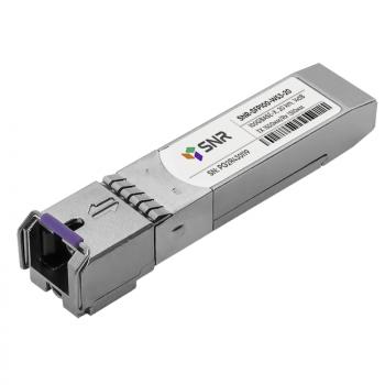 Модуль SFP WDM, дальность до  20км (12dB), 1550нм, 100Mb