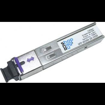 Модуль SFP 2.5G WDM, дальность до 40км (18dB), 1550нм