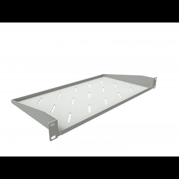 Полка консольная для шкафов глубиной 400мм, (глубина полки 250мм) распределенная нагрузка 20кг, цвет-серый (SNR-SHELF-04025-20GC)