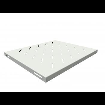 Полка стационарная для шкафов глубиной 600мм, (глубина полки 400мм) распределенная нагрузка 20кг, цвет-серый (SNR-SHELF-06040-20G)