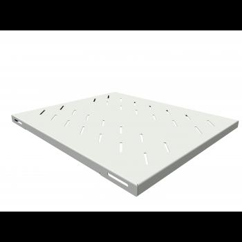 Полка стационарная усиленная для шкафов глубиной 800мм, (глубина полки 550мм) распределенная нагрузка 120кг, цвет-серый (SNR-SHELF-08055-120G)