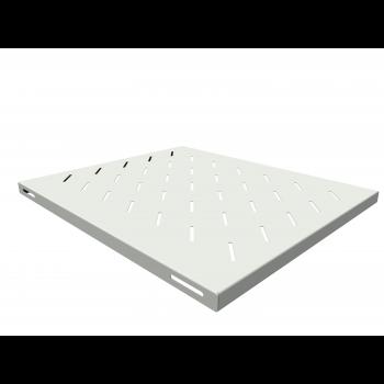 Полка стационарная для шкафов глубиной 800мм, (глубина полки 550мм) распределенная нагрузка 20кг, цвет-серый (SNR-SHELF-08055-20G) (следы монтажа)