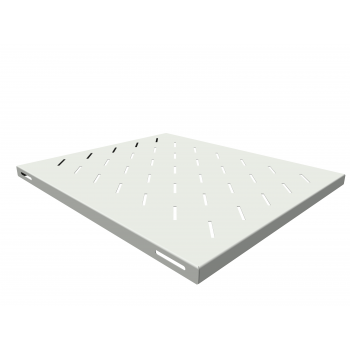 Полка стационарная для шкафов глубиной 800мм, (глубина полки 550мм) распределенная нагрузка 20кг, цвет-серый (SNR-SHELF-08055-20G)