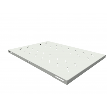 Полка стационарная усиленная для шкафов глубиной 900мм, (глубина полки 650мм) распределенная нагрузка 120кг, цвет-серый (SNR-SHELF-09065-120G)