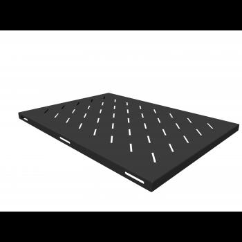 Полка стационарная для шкафов глубиной 900мм, (глубина полки 650мм) распределенная нагрузка 20кг, цвет-черный (SNR-SHELF-09065-20B)