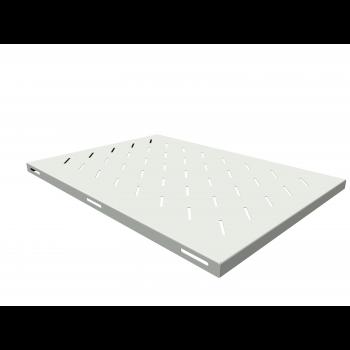 Полка стационарная для шкафов глубиной 900мм, (глубина полки 650мм) распределенная нагрузка 20кг, цвет-серый (SNR-SHELF-09065-20G)
