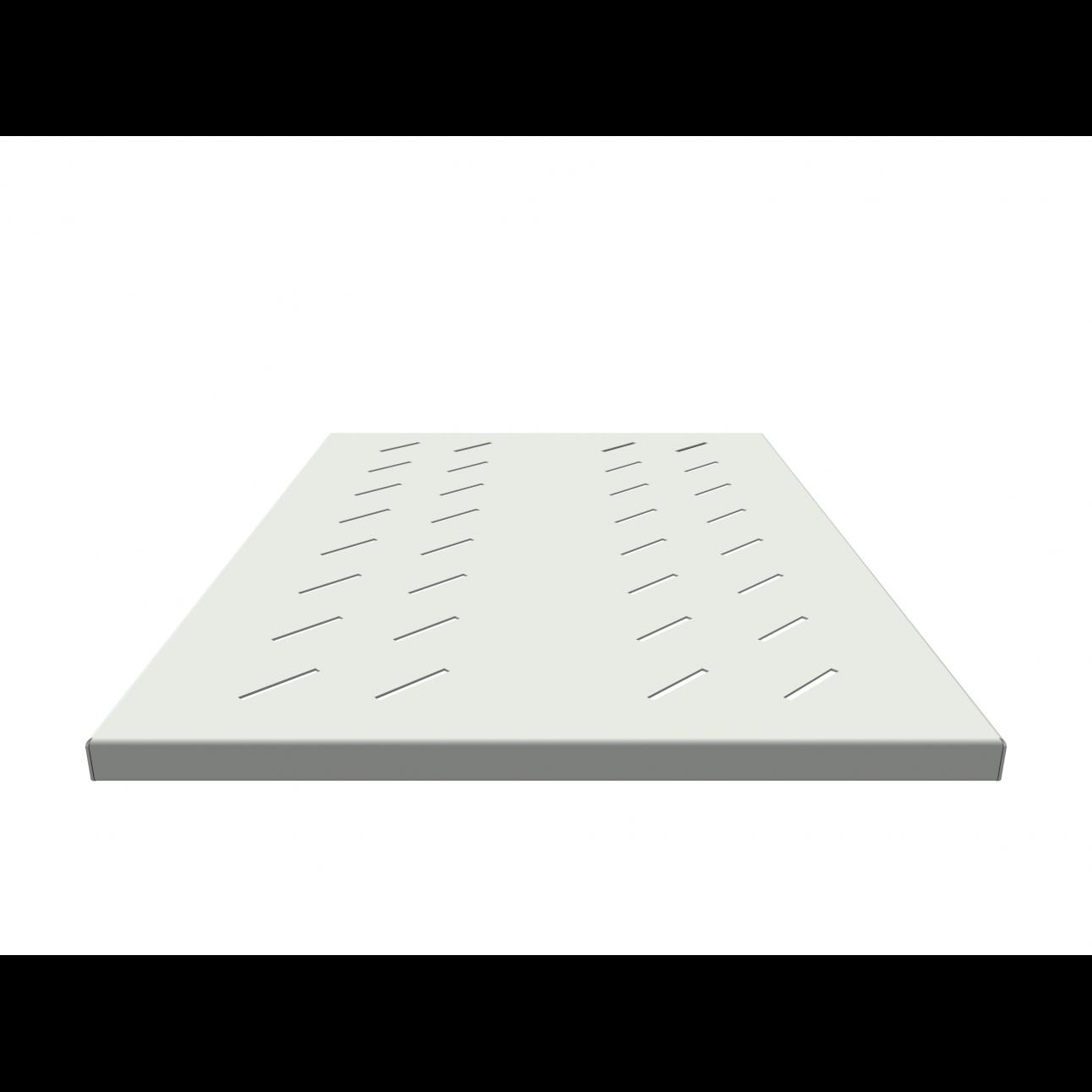 Полка стационарная усиленная в шкаф глубиной 900мм, (глубина полки 650мм) нагрузка 250кг, цвет-серый (SNR-SHELF-09065-250G)