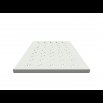 Полка стационарная для шкафов глубиной 1000мм, (глубина полки 710мм) распределенная нагрузка 20кг, цвет-серый (SNR-SHELF-10071-20G) (следы монтажа)