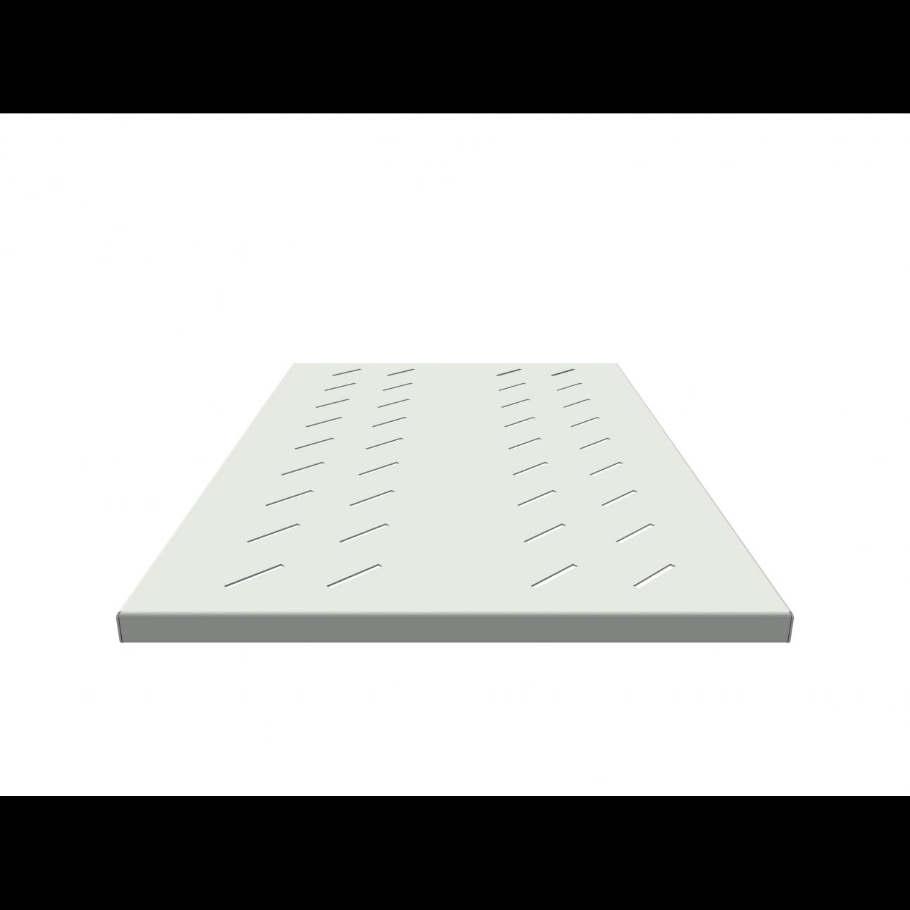 Полка стационарная усиленная для шкафов глубиной 1000мм, (глубина полки 710мм) распределенная нагрузка 250кг, цвет-серый (SNR-SHELF-10071-250G)