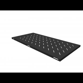 Полка стационарная для шкафов глубиной 1200мм, (глубина полки 950мм) распределенная нагрузка 20кг, цвет-черный (SNR-SHELF-12095-20B)