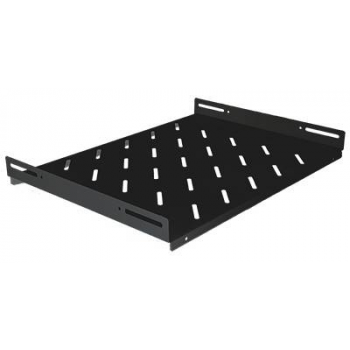 """Полка стационарная для шкафов 19"""" глубиной 800мм, черная (470*550*48)"""