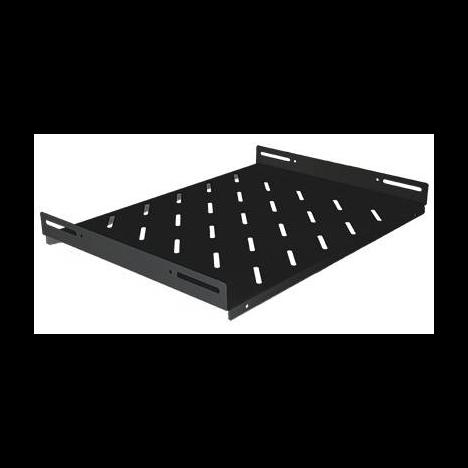 """Полка стационарная для шкафов 19"""" глубиной 960мм, черная (470*710*48)"""