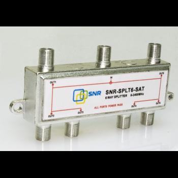 Делитель спутниковой ПЧ SNR-SPLT6-SAT