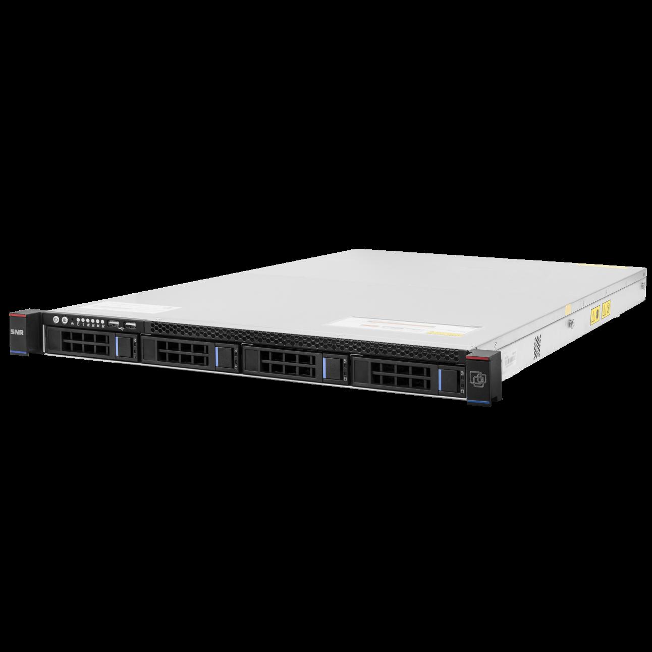 """Сервер SNR-SR1104R, 1U, 1 процессор Intel 4C E3-1220 v6 3GHz, 8G DRAM, 1x2.5"""" SSD ML240, Win10Pro"""