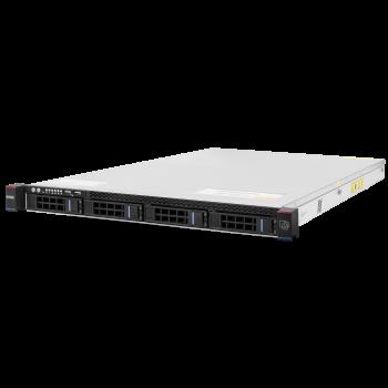 Сервер SNR-SR1204R, 1U, 1 процессор Intel 8C E5-2620v4 2.10GHz, 32G DRAM