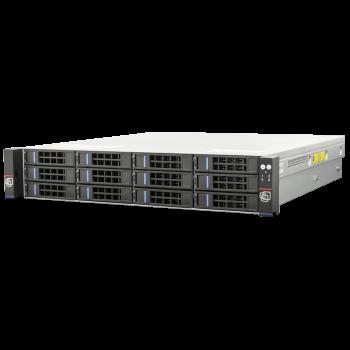 Серверная платформа SNR-SR2112R, 2U, E3-1200v6, DDR4, 12xHDD, резервируемый БП