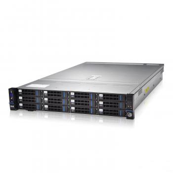 Серверная платформа SNR-SR2212RS, 2U, 2 процессора Intel Xeon 16C Gold 5218, 768 DRAM, 12x8TB SAS HDD, 2x1.6TB SSD PCI-E 3.0, RAID 12Gb, 2x10Gb