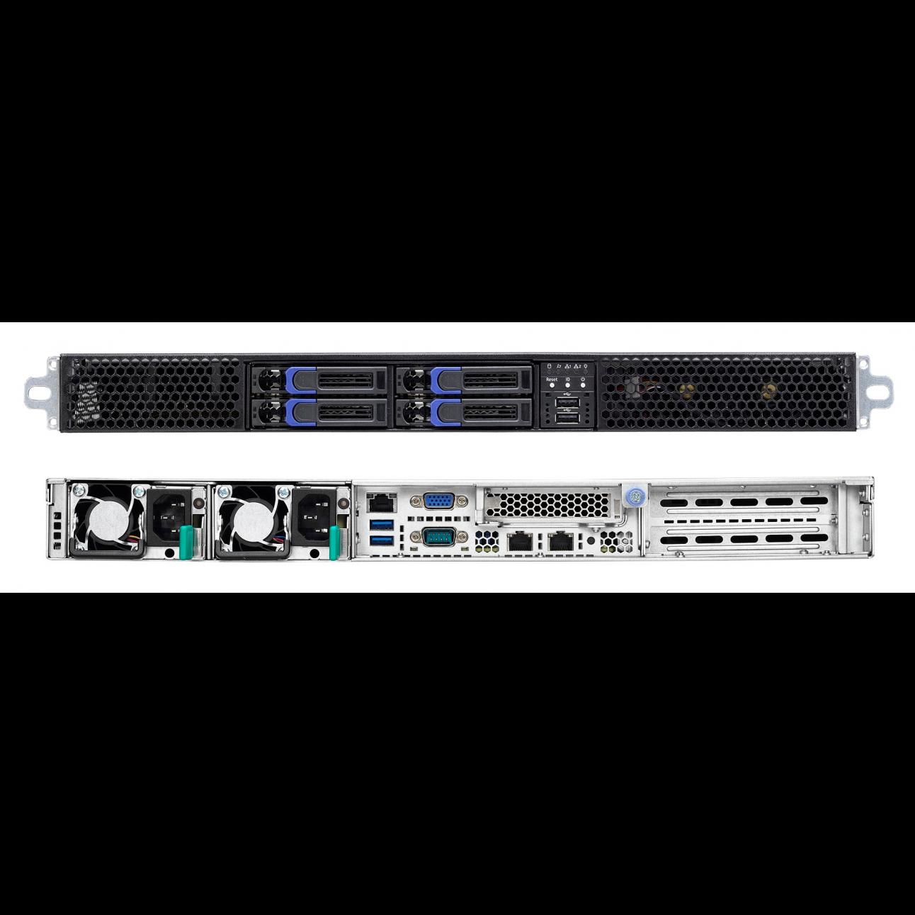 Серверная платформа SNR-SR460R-V3, 1U, E5-2600v3/v4, DDR4, 4xHDD, резервируемый БП
