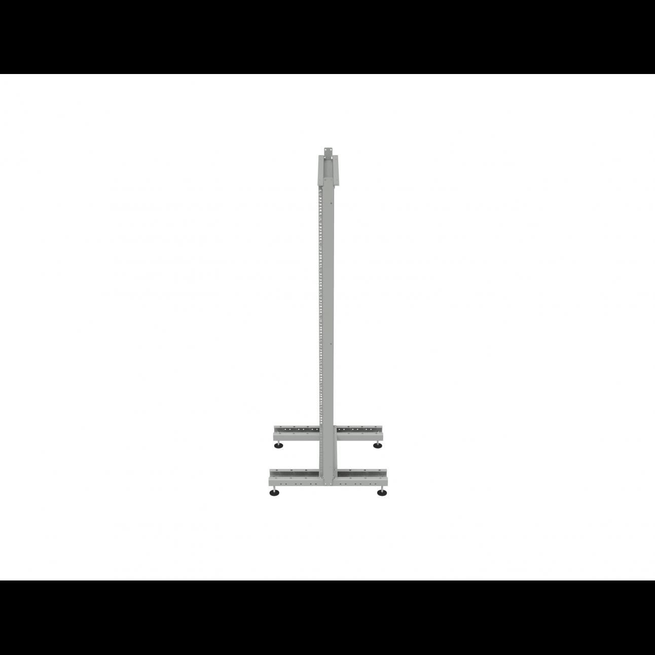 Стойка монтажная однорамная 33U (1600х530х600мм)
