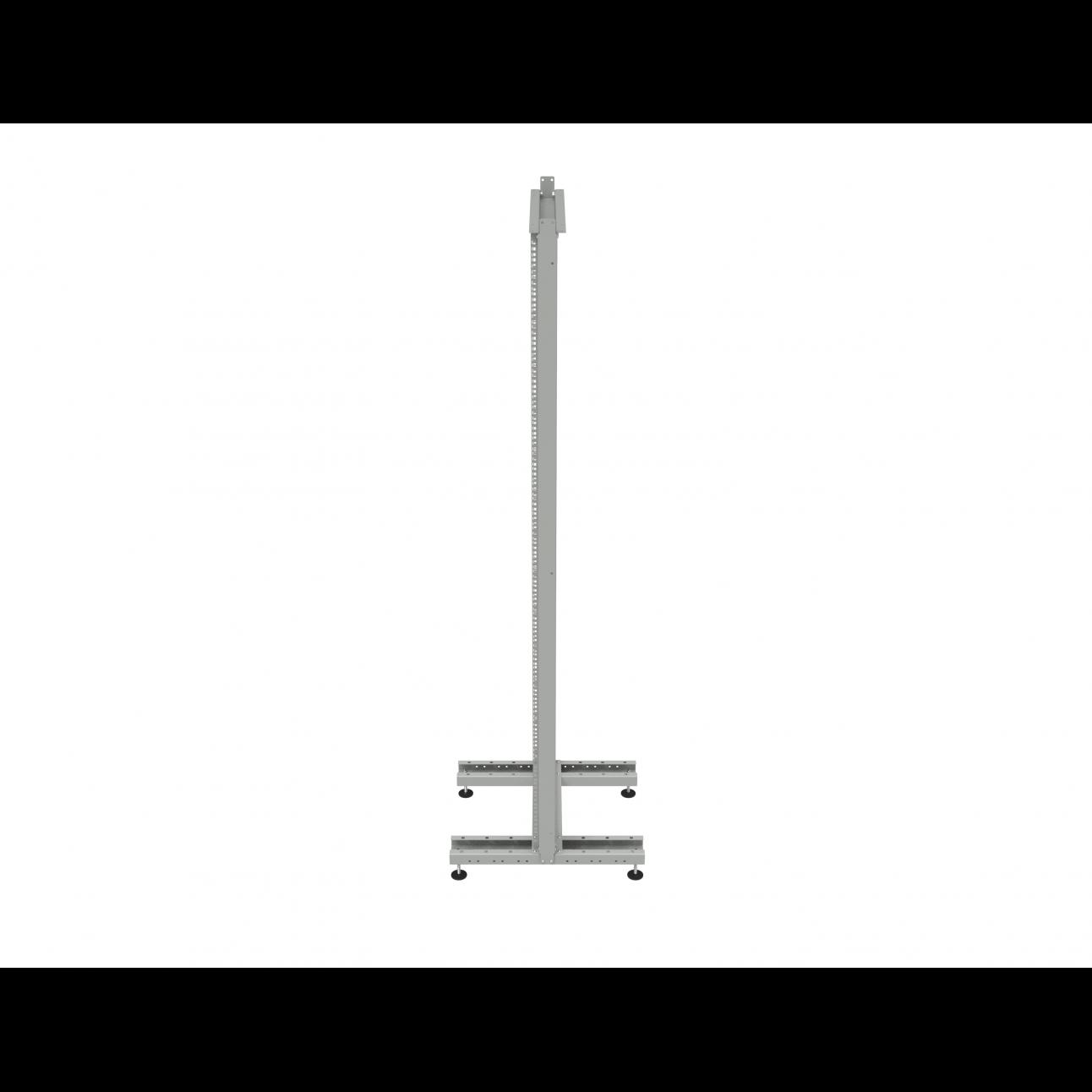 Стойка монтажная однорамная 42U (2000х530х600мм)