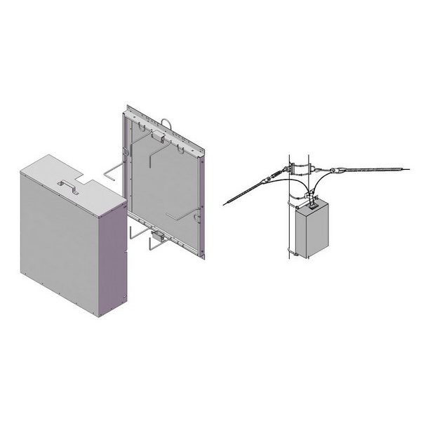 Шкаф ШРМ-1-2 800х900х300мм