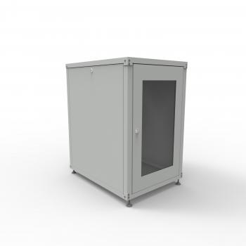 Шкаф телекоммуникационный  20U, 935х600x800мм (ВШГ)