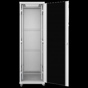 Шкаф телекоммуникационный напольный 22U 600x600мм, серия TFC (SNR-TFC-226060-GS-G) (после теста, есть следы монтажа, отсутствие коробки)