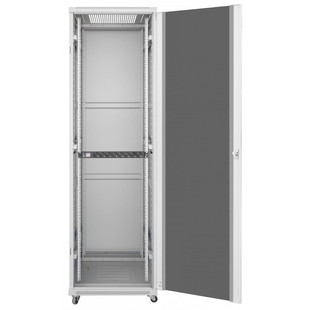 Шкаф телекоммуникационный напольный 22U 600x800мм, серия TFC (SNR-TFC-226080-GS-G)