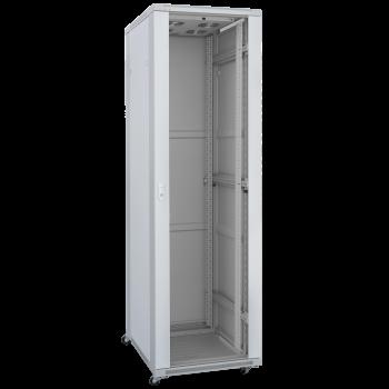 Шкаф телекоммуникационный напольный 27U 600x600мм, серия TFC (SNR-TFC-276060-GS-G)
