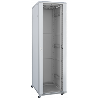 Шкаф телекоммуникационный напольный 37U 600x800мм, серия TFC (SNR-TFC-376080-GS-G)