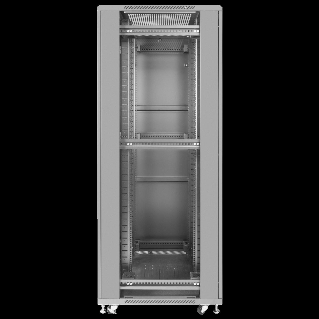 Шкаф телекоммуникационный напольный 37U 800x1000мм, серия TFC (SNR-TFC-378010-CPDP-B)