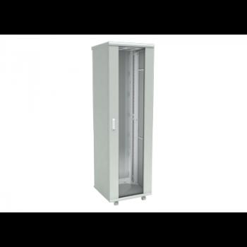 Шкаф телекоммуникационный напольный 42U 600x800мм, серия TFC (SNR-TFC-426080-GS-G) (небольшие следы монтажа)