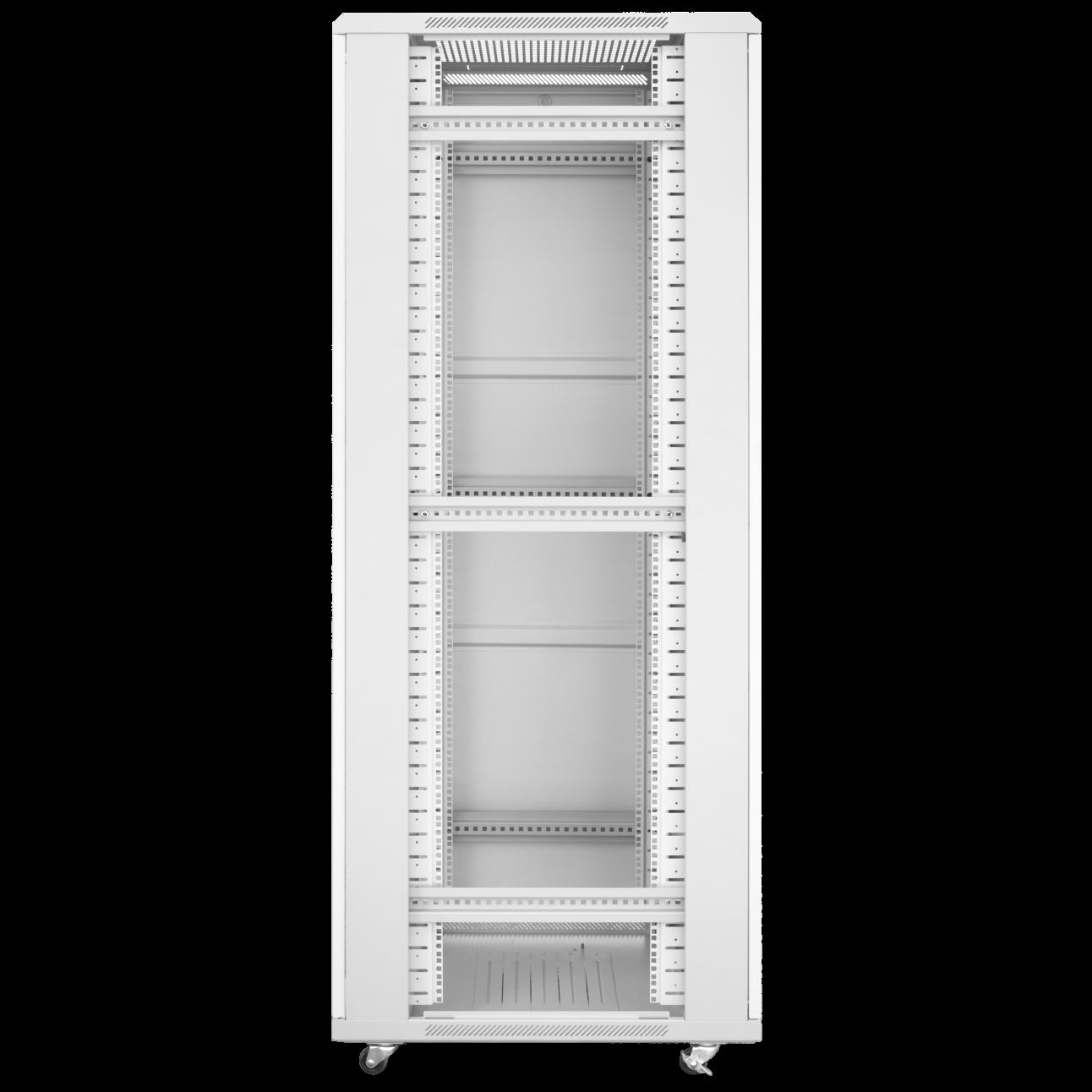 Шкаф телекоммуникационный напольный 42U 600x800мм, серия TFC (SNR-TFC-426080-GS-G)