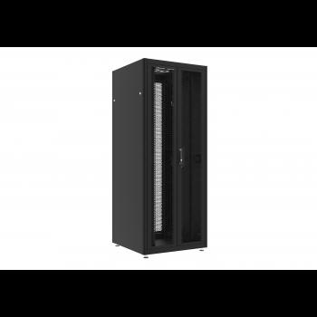 Шкаф телекоммуникационный напольный 42U 800x800мм, серия TFC (SNR-TFC-428080-DPDP-B)