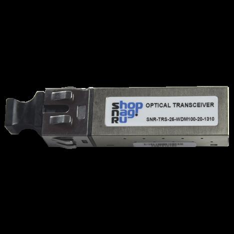 Трансивер 100Mb, 2x5, WDM 20км 1310nm