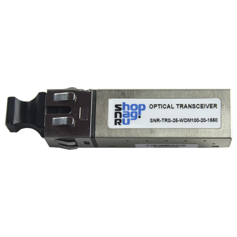 Трансивер 100Mb, 2x5, WDM 20км 1550nm