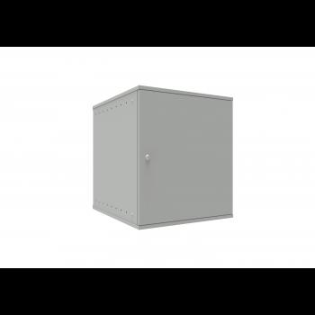 Шкаф телекоммуникационный настенный 12U, 523х600х599мм серия LITE (металлическая дверь)
