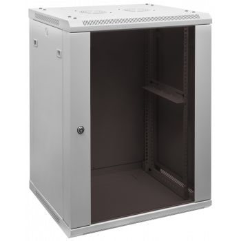 Шкаф телекоммуникационный настенный 15U, 600х450х770мм (есть следы мотажа, потертости)