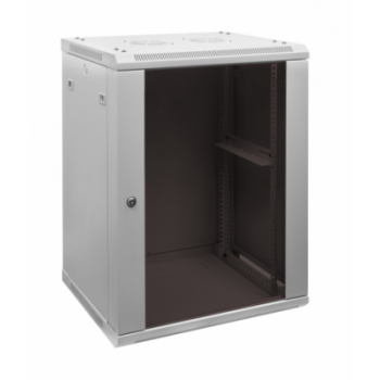 Шкаф телекоммуникационный настенный 15U, 600х450х770мм
