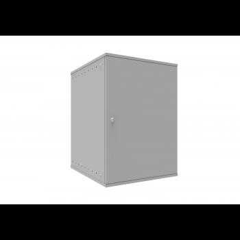Шкаф телекоммуникационный настенный 15U, 523х600х732мм серия LITE (металлическая дверь)
