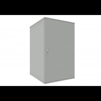Шкаф телекоммуникационный настенный 18U, 523х600х866мм серия LITE (металлическая дверь)