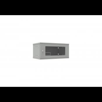 Шкаф телекоммуникационный настенный 4U, 523х300х234мм серия LITE (��теклянная дверь)