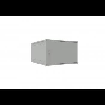 Шкаф телекоммуникационный настенный 6U, 523х600х332мм серия LITE (металлическая дверь)