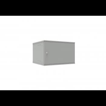 Шкаф телекоммуникационный настенный 6U, 523х450х332мм серия LITE (металлическая дверь)