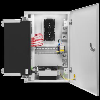 Шкаф телекоммуникационный для узла доступа 600х400x200мм, серия RT без блока питания (SNR-TWC-604020-RT-IP30)