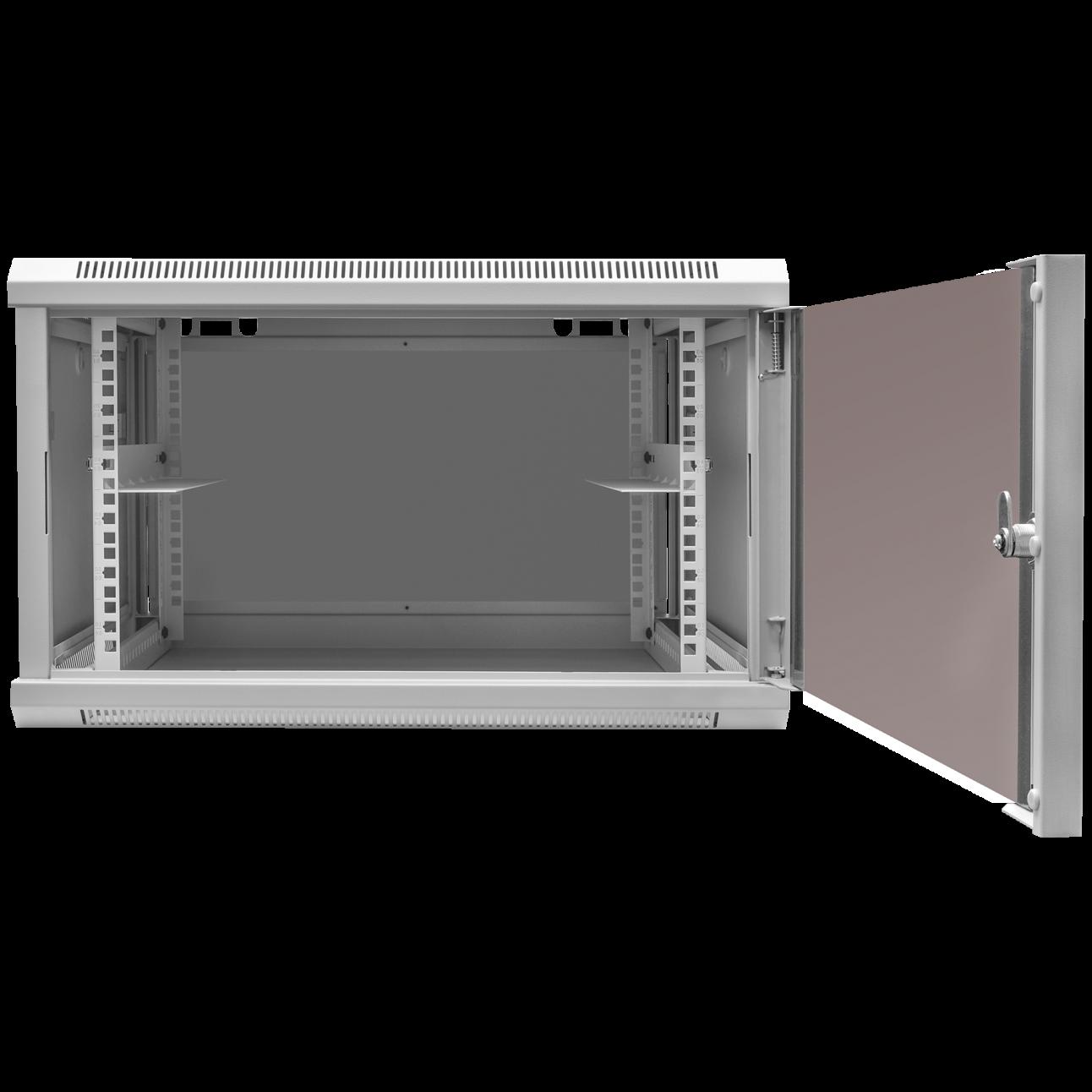 Шкаф телекоммуникационный настенный, 9U, 600х600х500мм