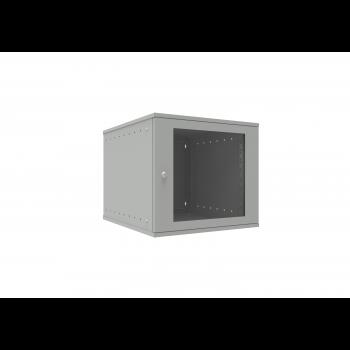 Шкаф телекоммуникационный настенный 9U, 523х600х465мм серия LITE (стеклянная дверь)