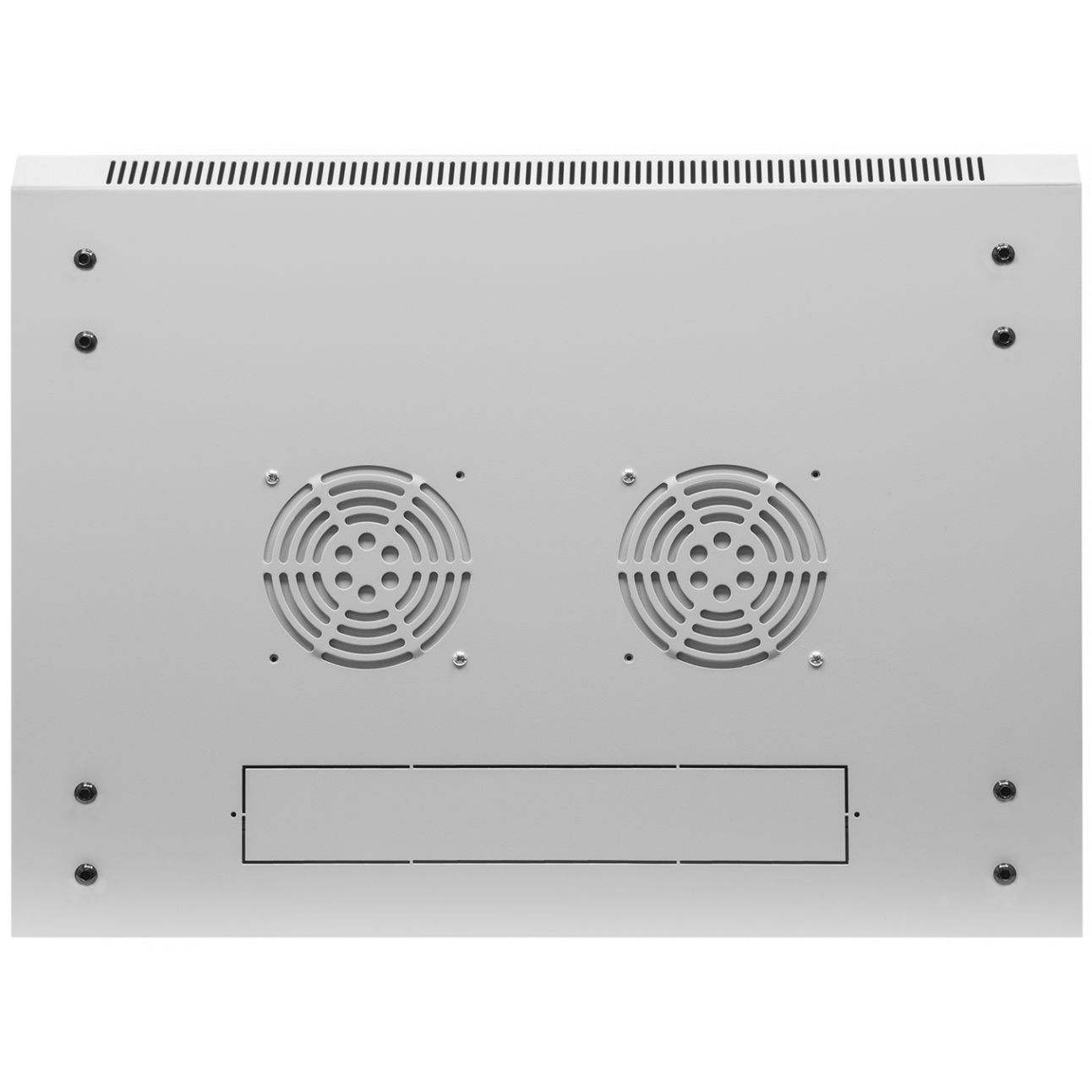 Шкаф телекоммуникационный настенный 9U, 600х450х500мм (металлическая дверь)